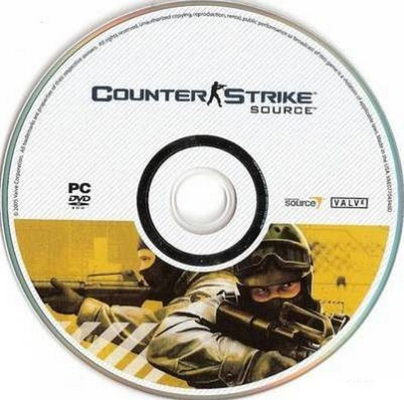 Диск с игрой Counter Strike Source