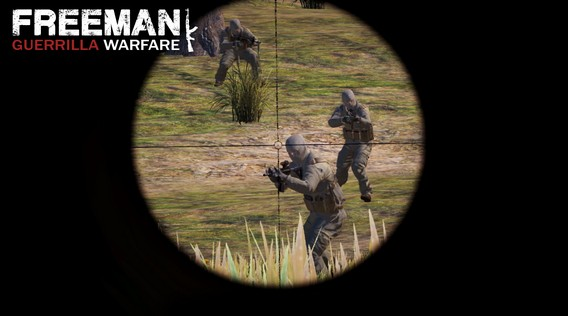 Игра Freeman Guerrilla Warfare