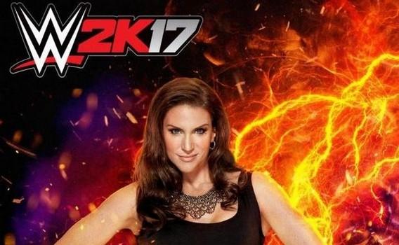 Игра за Стефани в WWE 2K17