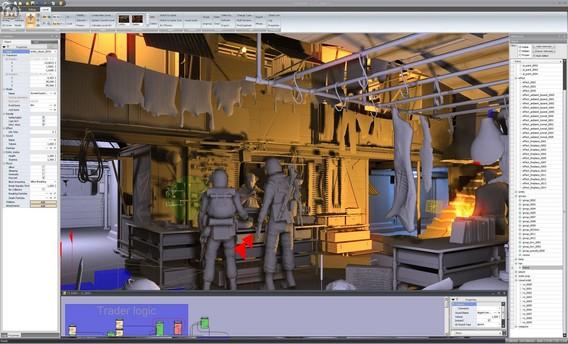 Игровой движок Метро 2033 4A Engine