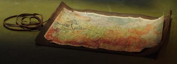 Карта из Metro Exodus Artyom Edition