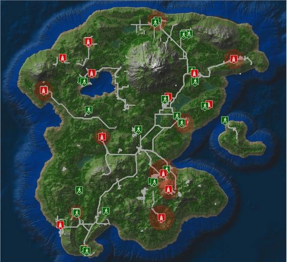 Life is Feudal MMO Карта мира в игре