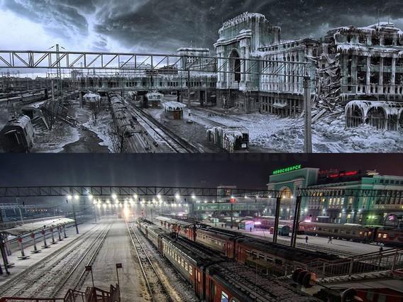 Metro Exodus Новосибирск Железнодорожный вокзал
