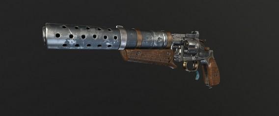 Metro Exodus Револьвер