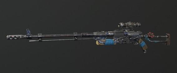 Metro Exodus Снайперская винтовка Вентиль