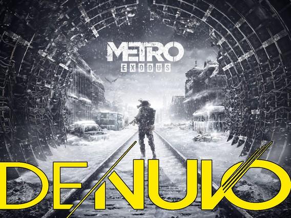 Metro Exodus под защитой Denuvo