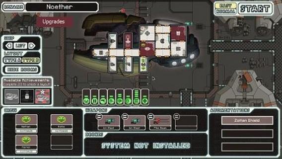 Игра FTL корабль Noether