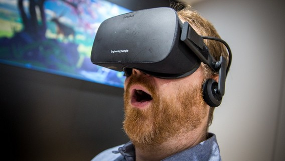 Окулус шлем виртуальной реальности