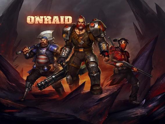 Onraid игра