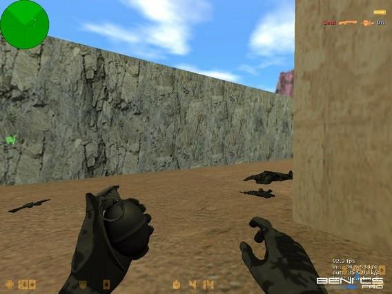 Осколочная граната CS 1.6