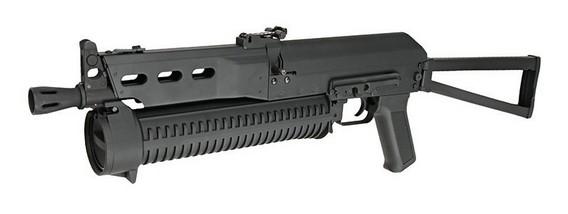 Пистолет-пулемет PP-Bizon в реальной жизни
