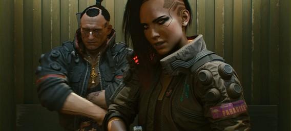 Персонажи Cyberpunk 2077