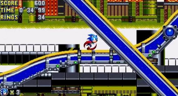 Платформер Sonic Mania
