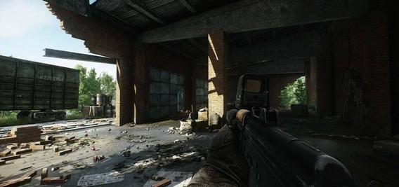 Побег из Таркова геймплейные кадры