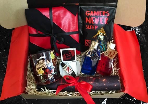 Подарочный набор геймеру на Хеллоуин