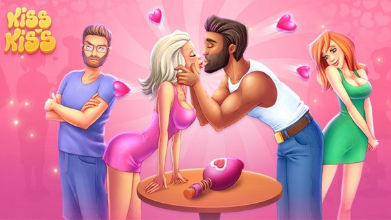 Приложение Kiss kiss Бутылочка в контакте