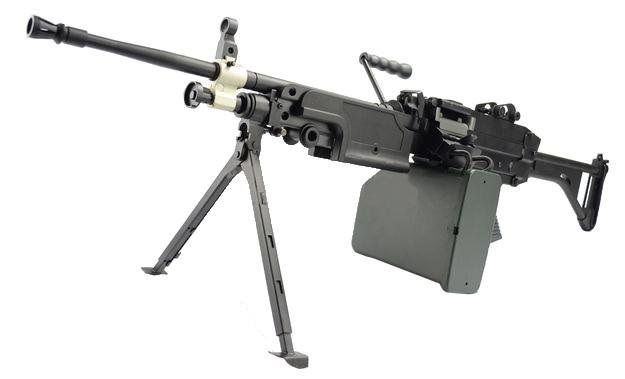 Пулемет M249 в реальной жизни