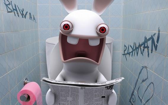 Rayman в туалете