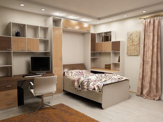 Раздвижная кровать в детскую комнату