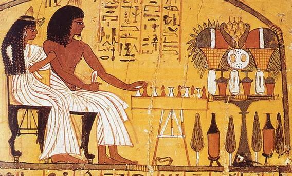 Шашки египетских фараонов