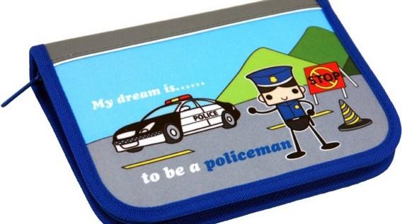 Школьный пенал будущего полицейского