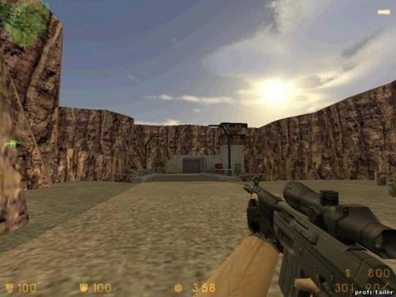 SSG552 Commando Counter Strike