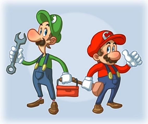 Сантехники Марио и Луиджи
