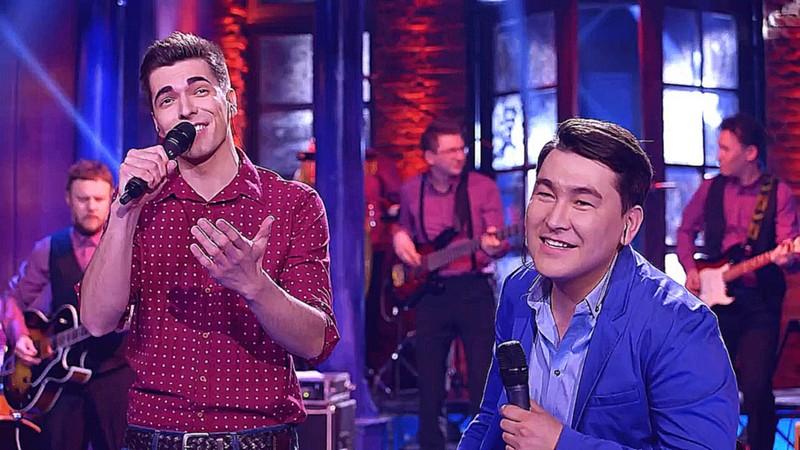 Слава Макаров и Азамат Мусагалиев