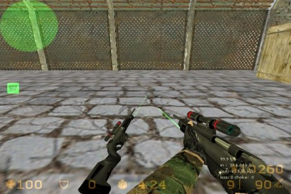 Steyr Scout Counter Strike