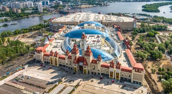 Строительство Острова мечты в Москве