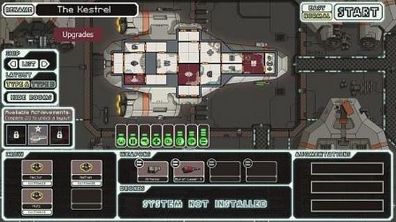 Корабли FTL - The Kestral Cruiser