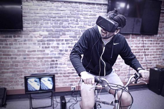 Виртуальный велотренажер