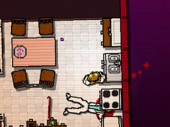 Hotline Miami Глава 5 Буква E