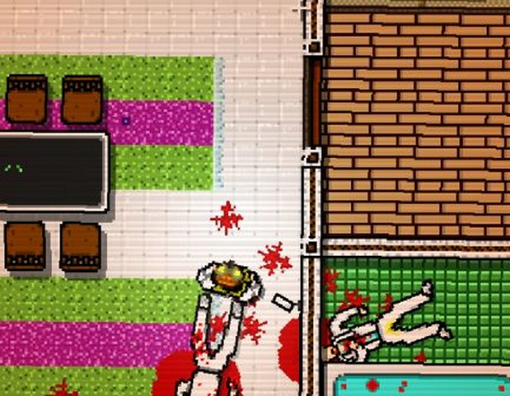 Hotline Miami Глава 3 Буква O