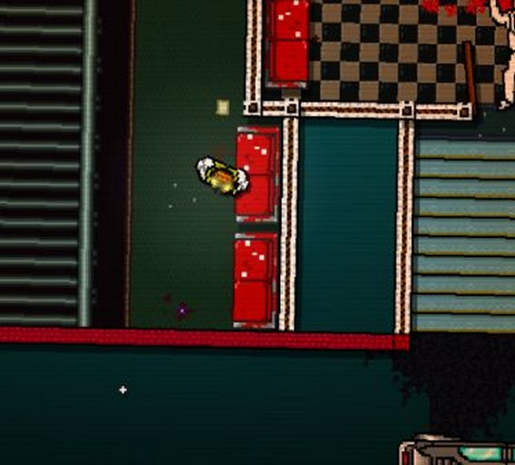 Hotline Miami Прелюдия Буква U