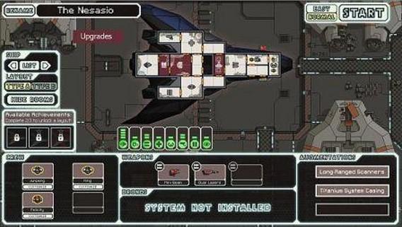 Игра FTL корабль The Nesasio, stealth ship