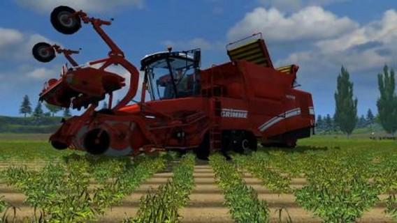Игра Agricultural Simulator 2013 комбайн