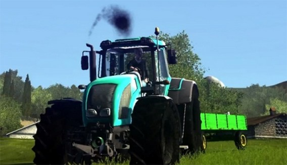 Игра Agricultural Simulator 2013 трактор
