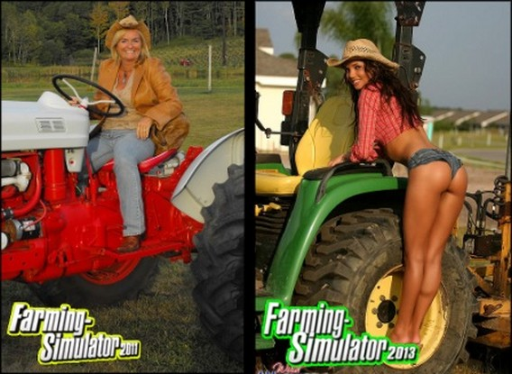 Игры Farming Simulator 2011 и 2013