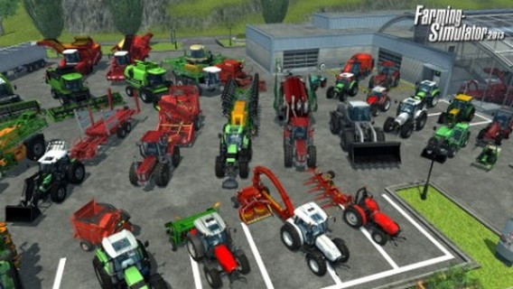 Игра Farming Simulator 2013 техника