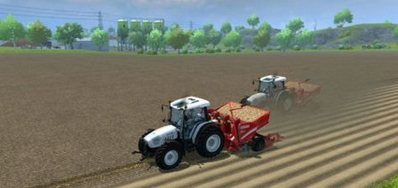 Игра Farming Simulator 2013 трактор