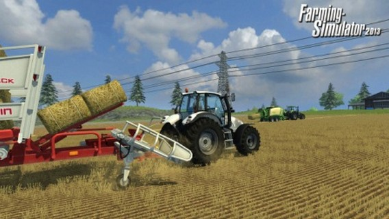 Игра Farming Simulator 2013 тюковщик