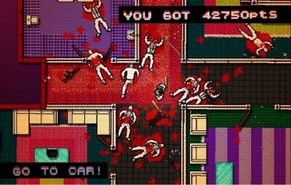 Игра Hotline Miami Кровь