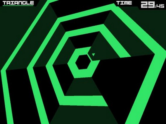 Игра Super Hexagon