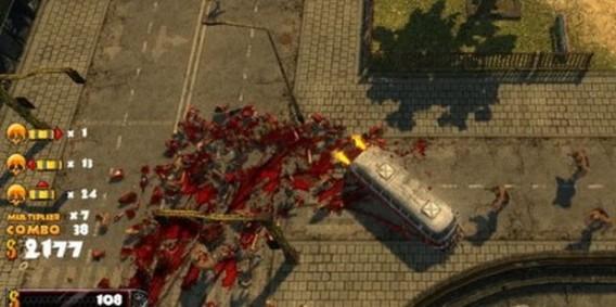 Игра Zombie Driver HD автобус