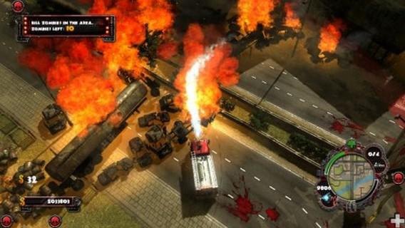 Игра Zombie Driver HD
