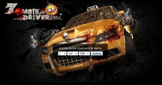 Игра Zombie Driver HD логотип