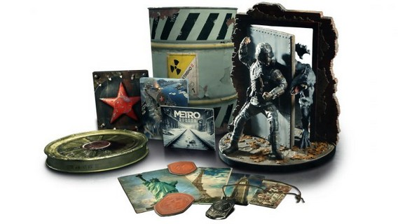 metro exodus spartan collectors edition