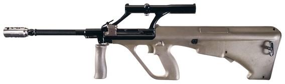 винтовка AUG в реальной жизни